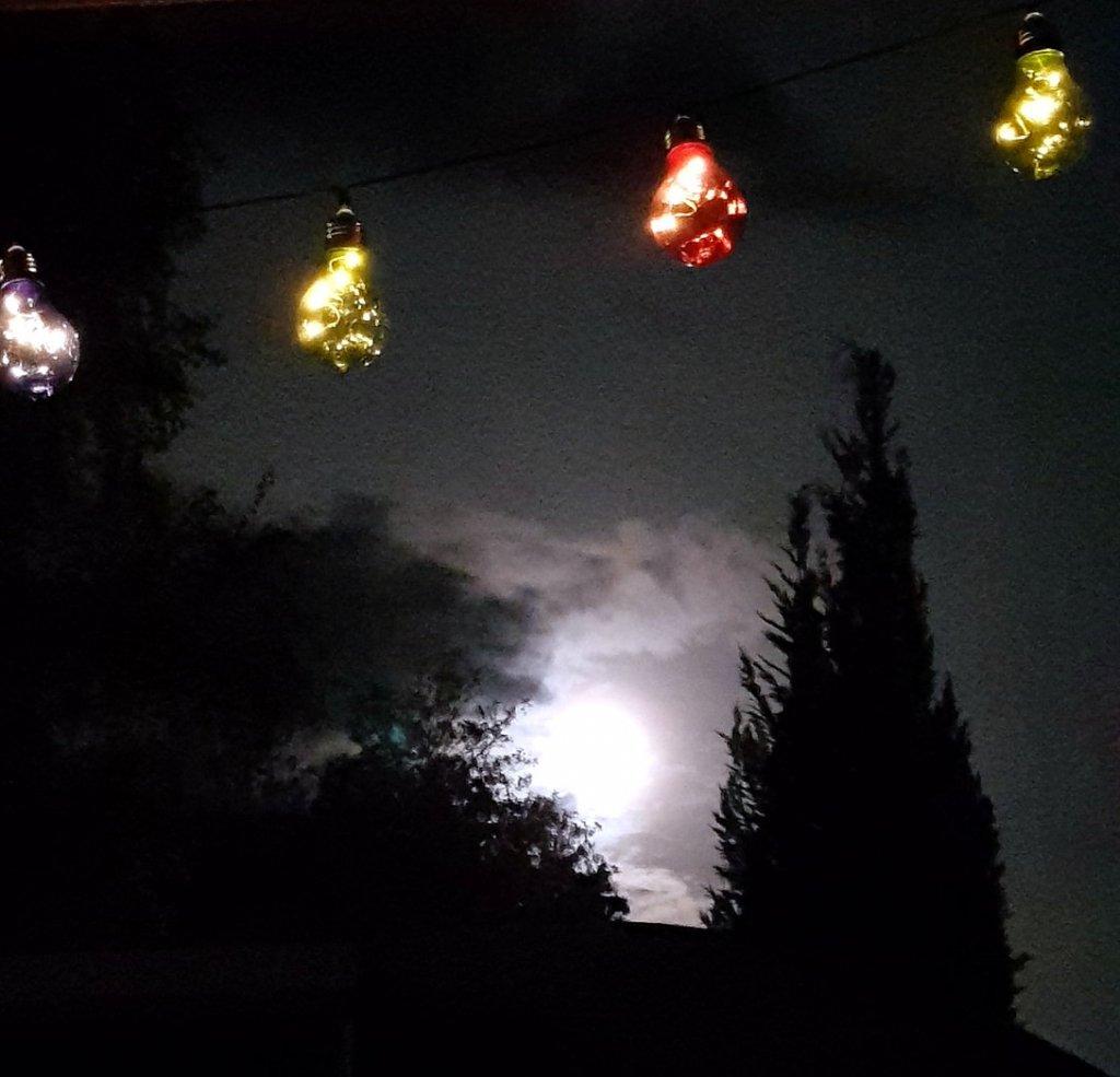 Bad Bederkesa bei Nacht