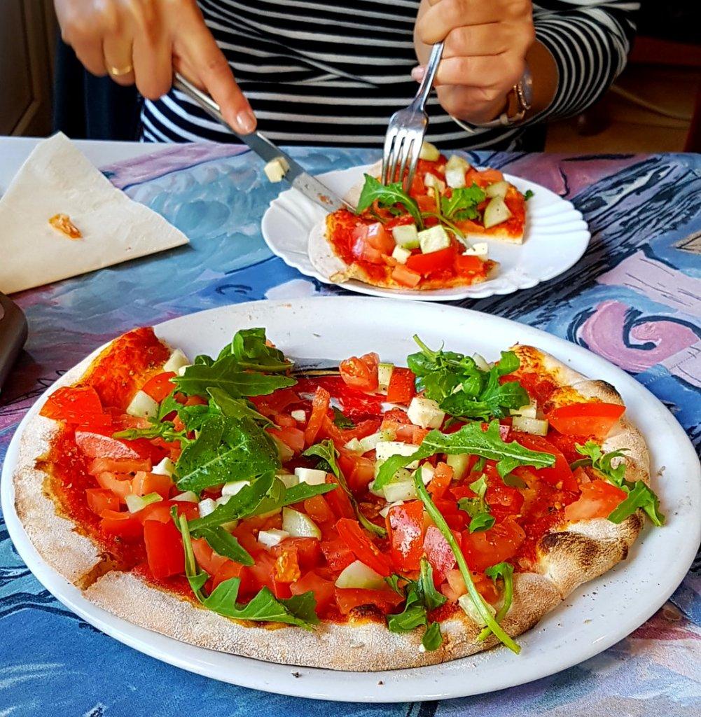 Bruschetta im Ristorante Pizzeria Da Leo