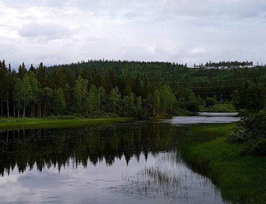 Gällivare Schweden Camping