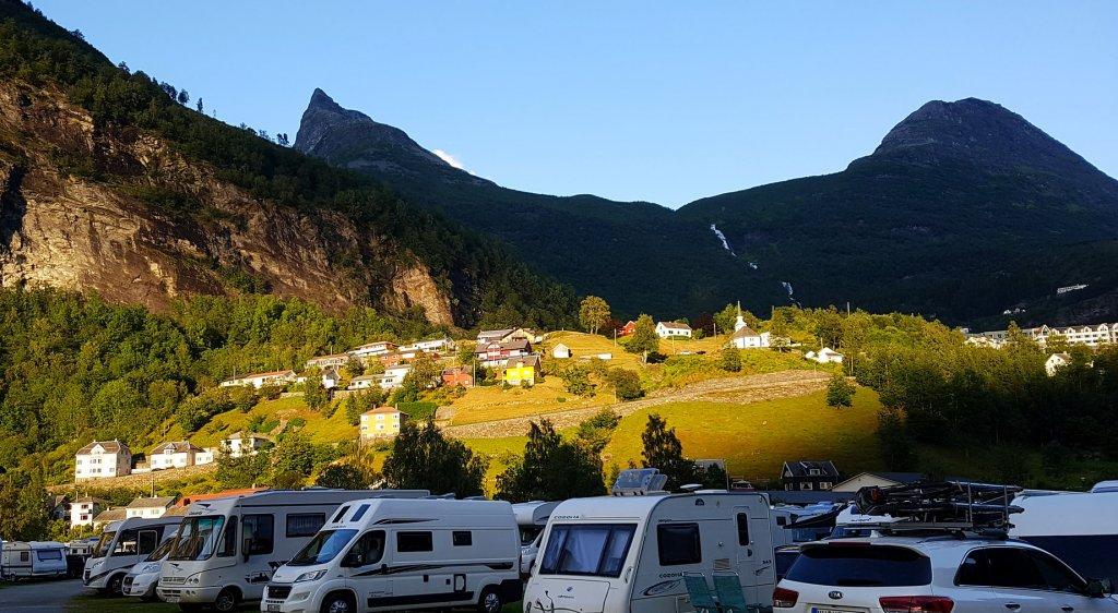 Geiranger Camping