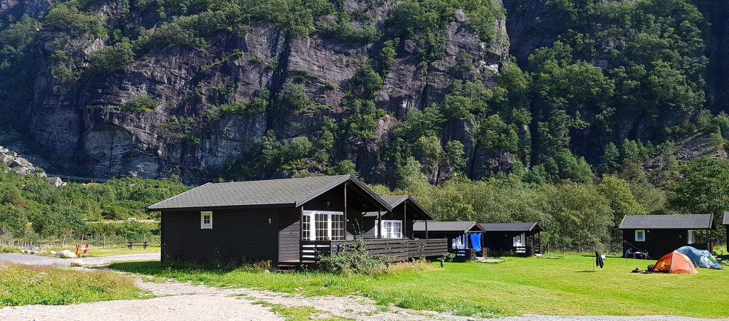 Lysebotn Camping