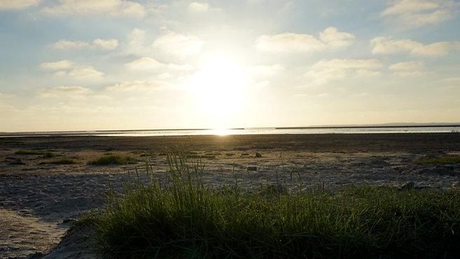 Strand Bensersiel - Sonnenuntergang
