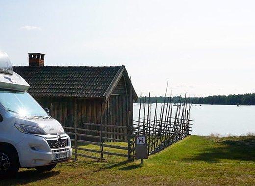 Högbacka Camping, Bergby in Schweden