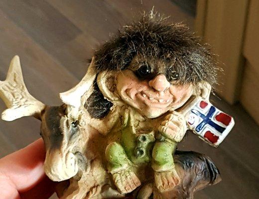 der norwegische Troll