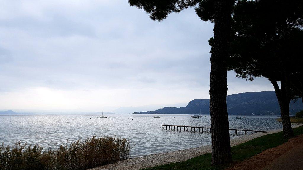 Gardasee im Herbst