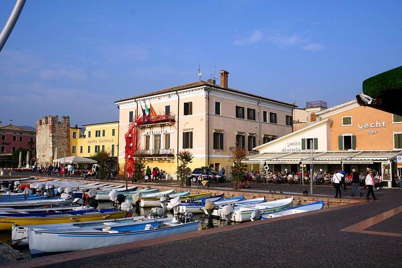 Bardolino Hafen