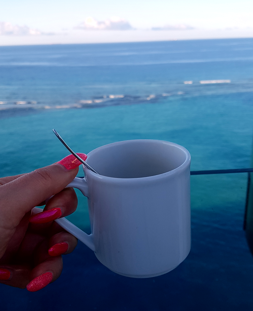 Kaffee with a view