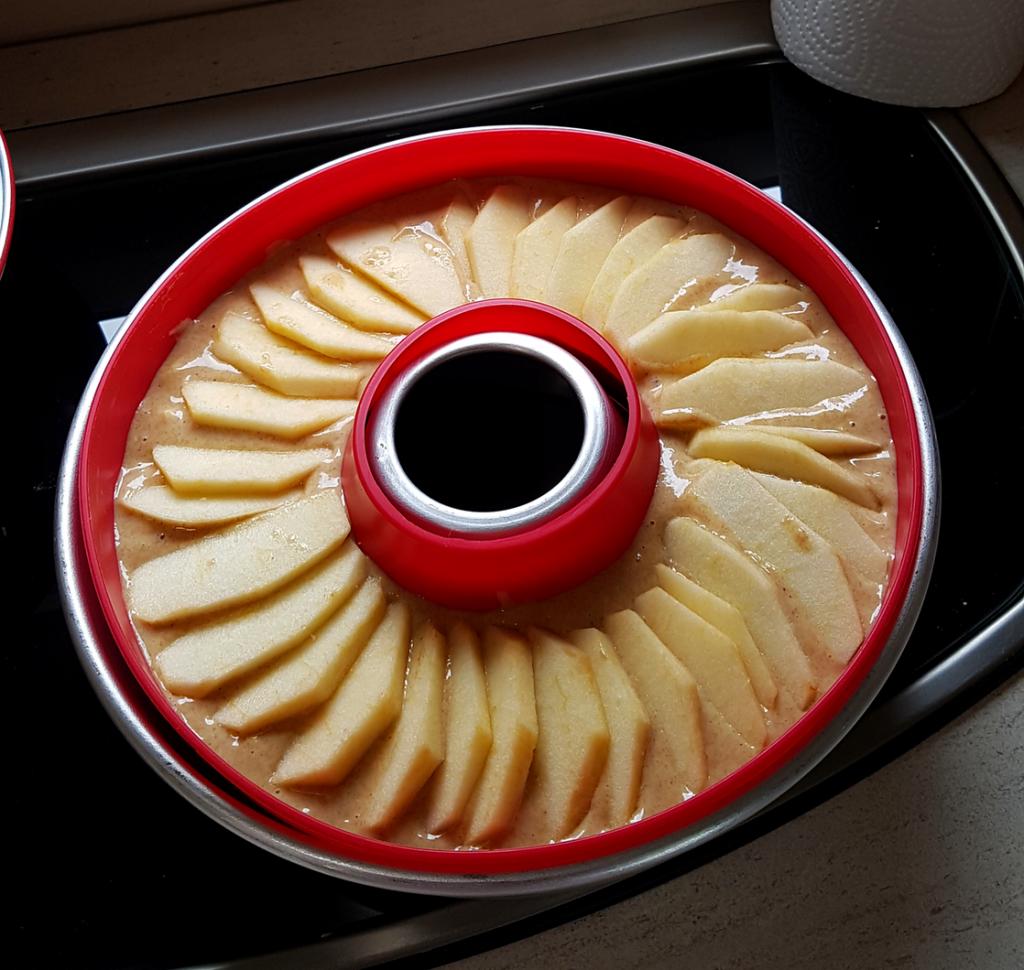 healthy Apfelkuchen