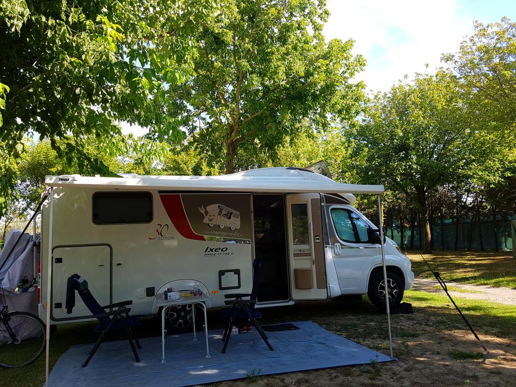 Camping rockt Umtiti on tour