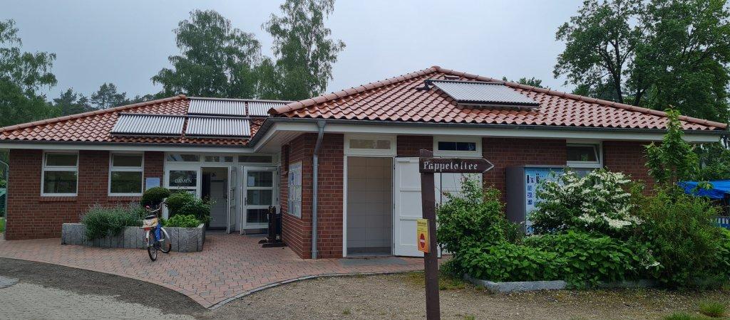 Waschhaus Südsee-Camp