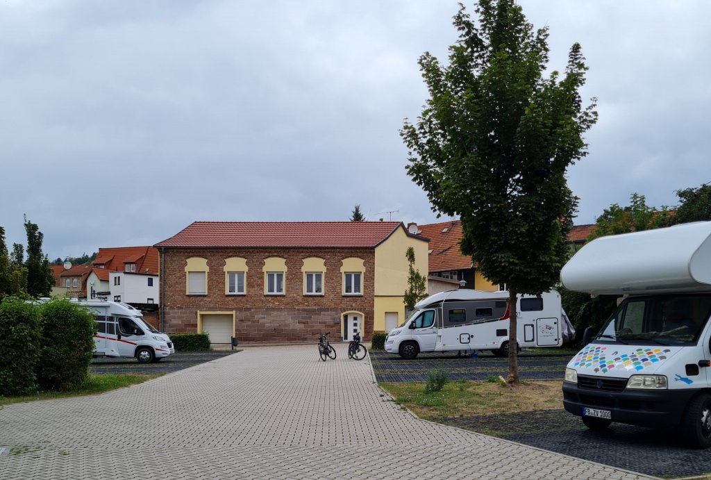 Stellplatz Kyffhäuser-Therme